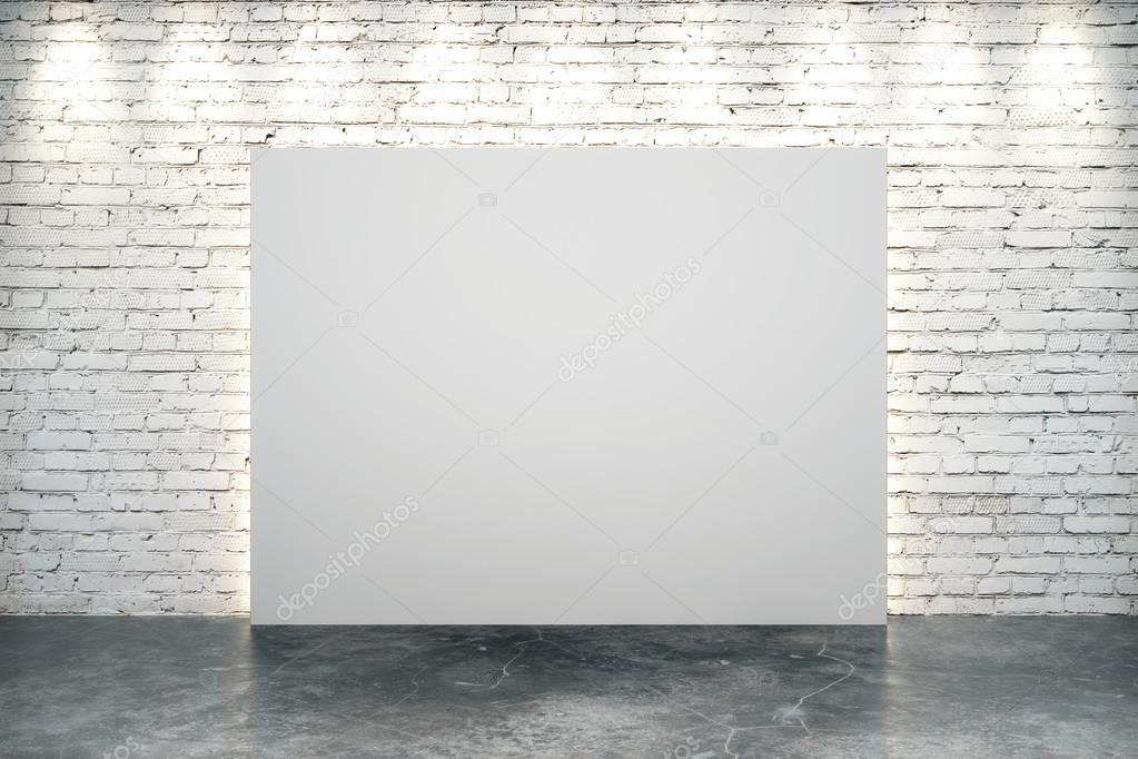 Painting A Brick Wall On Canvas