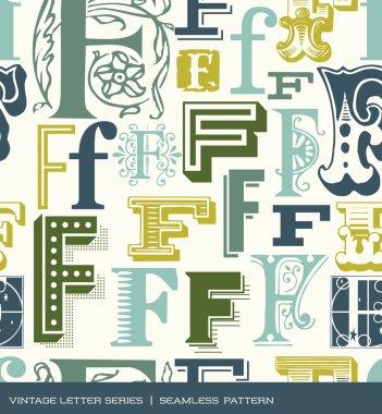 Vintage typography series stock vector