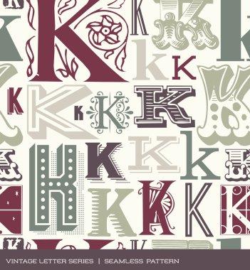 Vintage typography design series stock vector