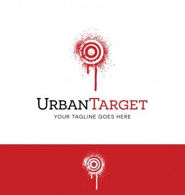 logo of spray painted target