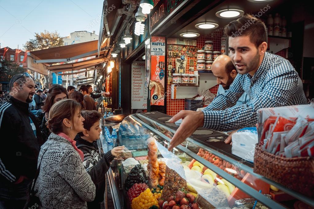 Ortakoy market