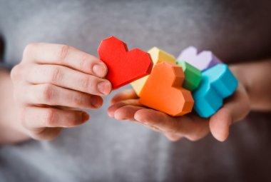 LGBT hearts