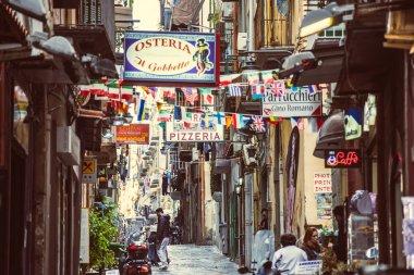 NaplesSmall street   in Naples, Italy