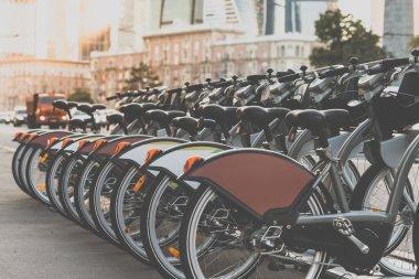 Bicycle parking at Kutuzovsky avenue