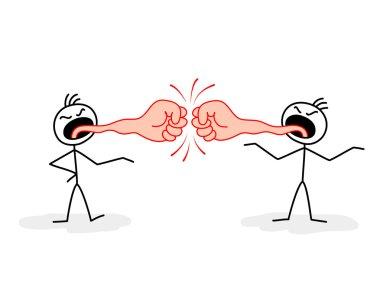 Verbal confrontation