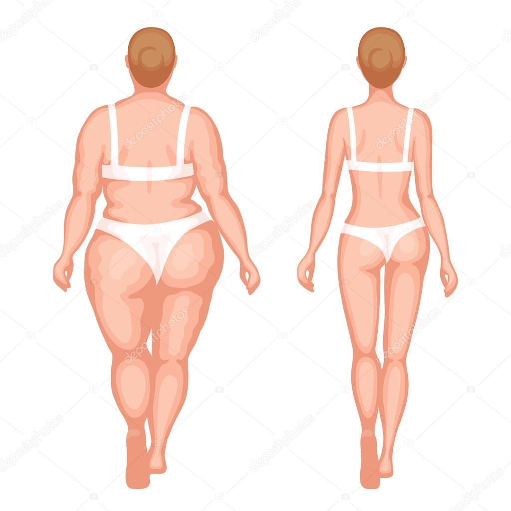 Тонке и толстые разделись фото 149-886
