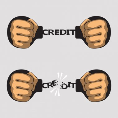 Credit fetters and fists