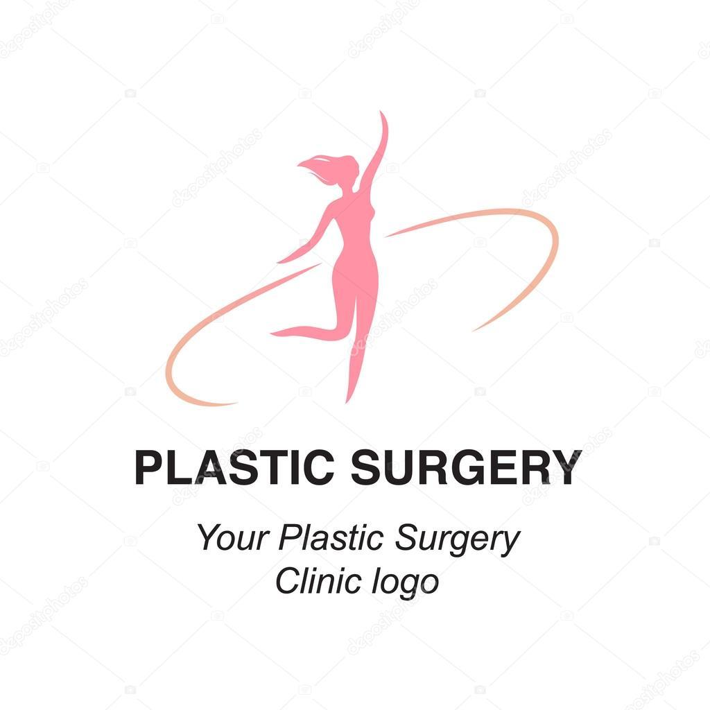 Plastic Surgeon Logo Logo For Plastic Surgery Clinics Stock Vector C Barkarola 109122046