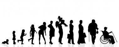 Silhouette generation women.