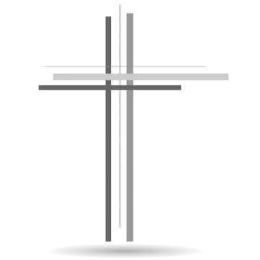Illustration of a cross.