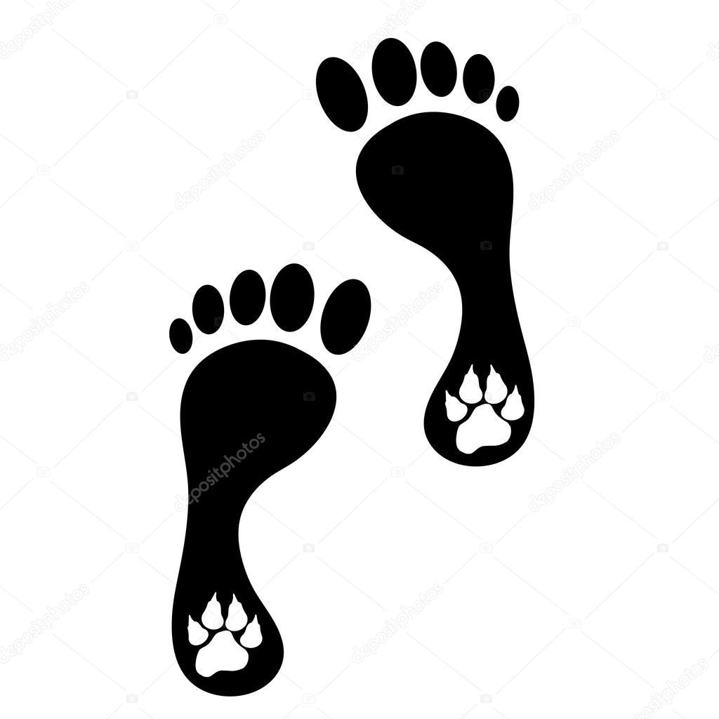 Imágenes Huellitas De Perritos Humanos Y De Huellas De Perro