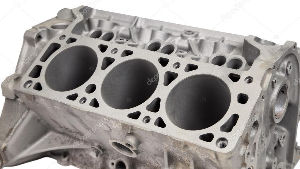 Motor-Baugröße nach Pulverbeschichtung — Stockfoto © ChrisTefme ...