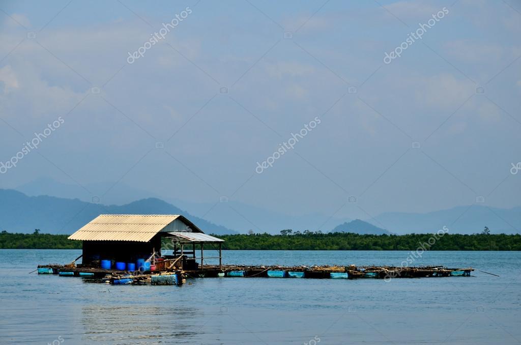 fish cages at Phra Thong Island