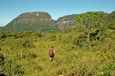 Trekking in southern Brazil