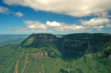 Majestic canyon in southern Brazil