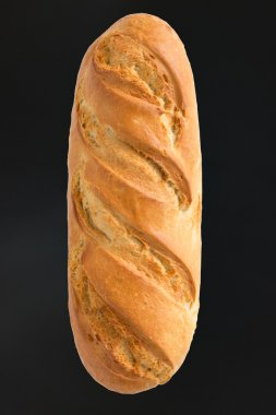 baguette on a background with a place for inscription