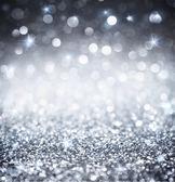 Glitter argento - splendente sfondi per Natale