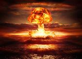 Výbuch jaderné bomby v oceánu