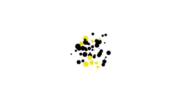 Černá ikona šablony certifikátu izolovaná na bílém pozadí. Úspěch, vyznamenání, titul, grant, diplom. Certifikát obchodního úspěchu. Grafická animace pohybu videa 4K