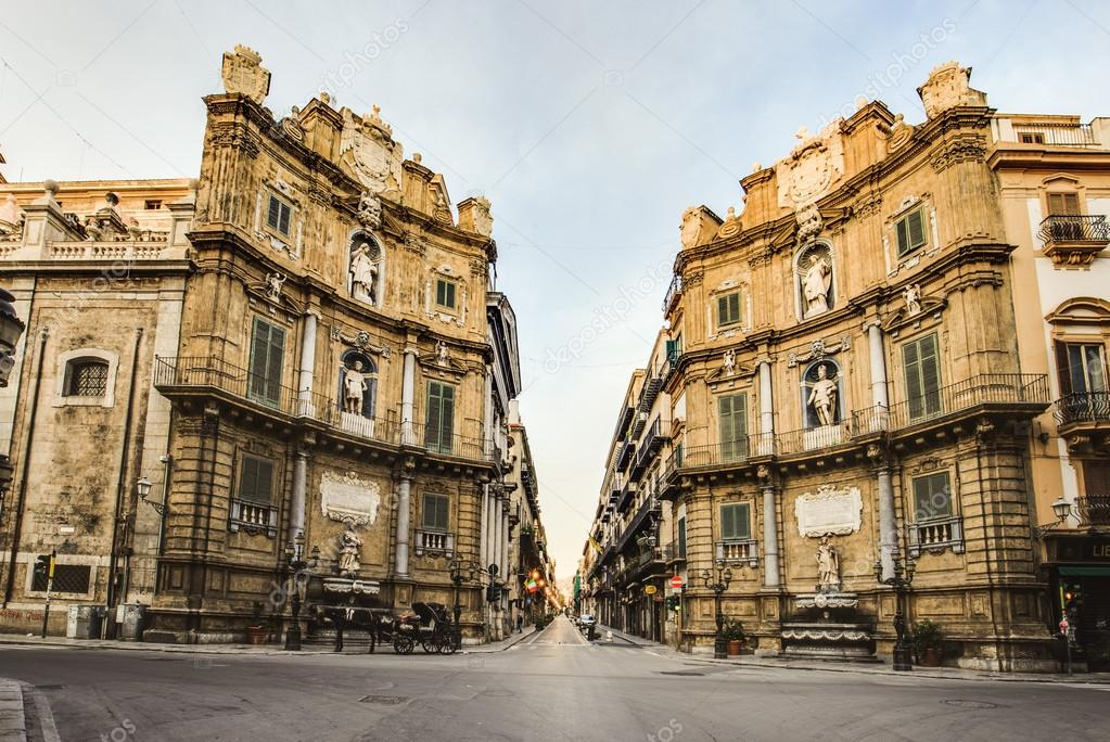 palermo city in sicily italy stock editorial photo