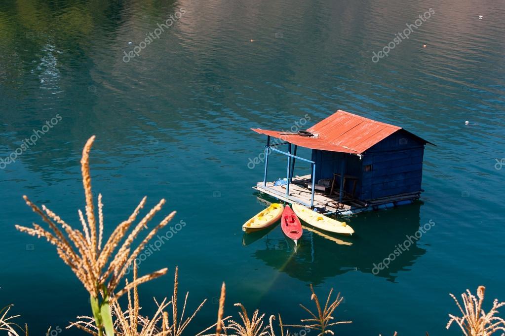 Lake Atitlan and boat dock