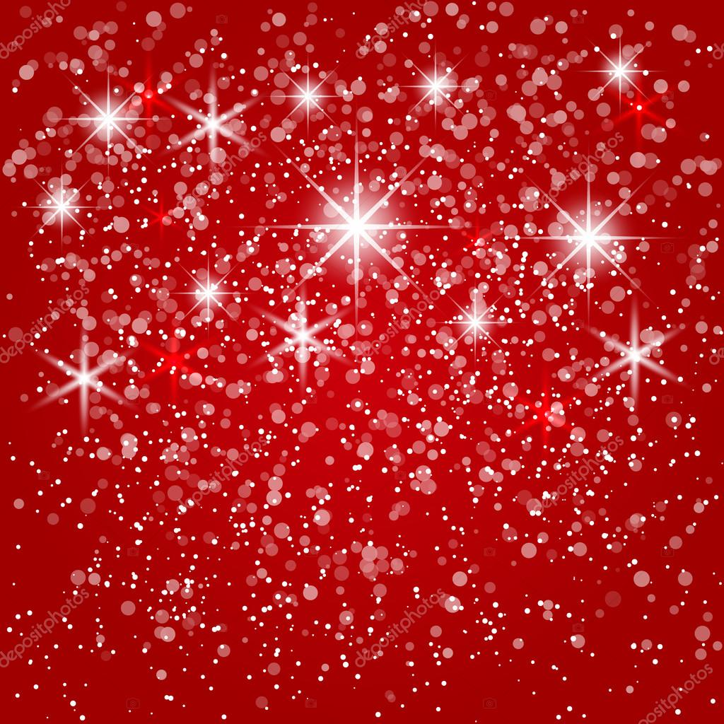 Vector abstract red winter  background