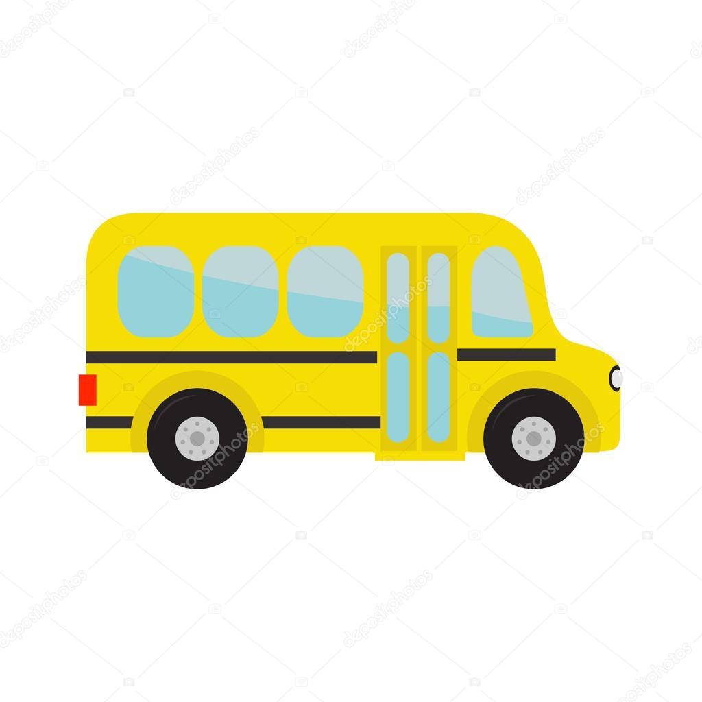Autobus Scolaire Jaune Image Vectorielle Worldofvector