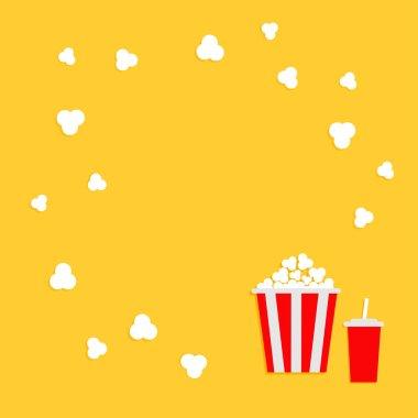 Popcorn round frame