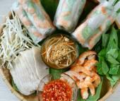 Vietnamesische Speisen, Goi Cuon, Salat-roll