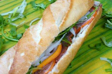 Vietnamese food, banh mi