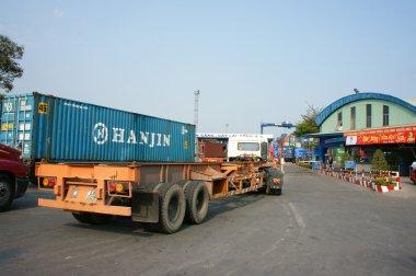 Ulaşım, ihracat, ithalat, Ho Chi Minh bağlantı noktası