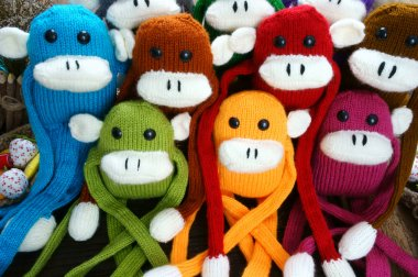 handmade, monkey, happy new year 2016, funny animal