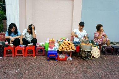 Vietnamese street food, streetfood, Vietnam, ho chi minh