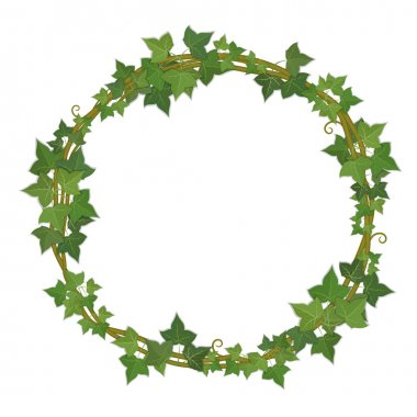 Ivy round frame