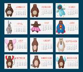 Nese kalendář 2016 s komickou bederní