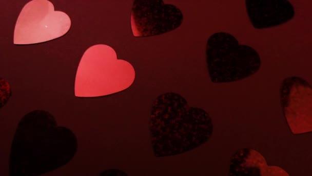 Barevné abstraktní pozadí se srdcem