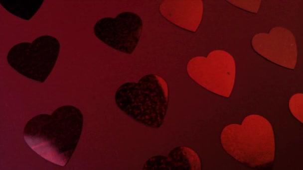 Bunte abstrakte Hintergrund mit Herzen
