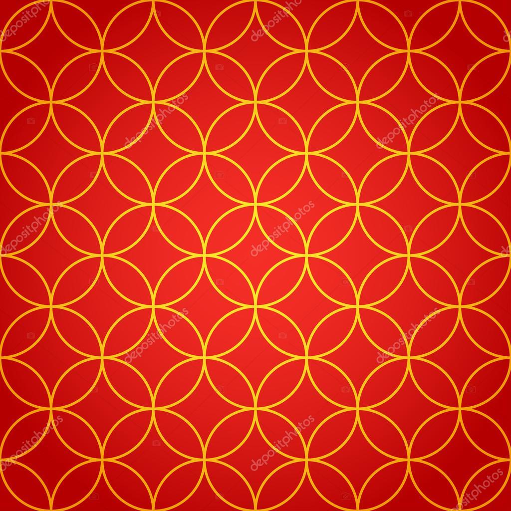 Chinese Seamless Pattern New Year 2015 Bright Beautiful Vector Illustration Background By Krolja