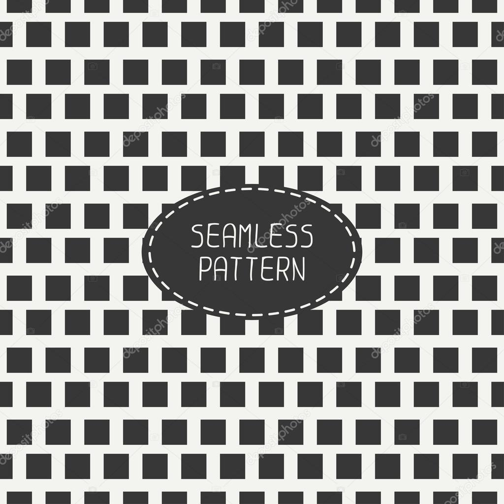 geometric monochrome hipster squares seamless pattern paper for