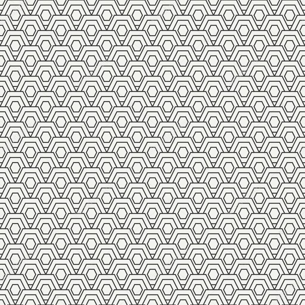 Motif sans soudure de lignes géométriques hipster abstrait ...