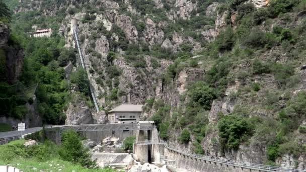 Provence, Francie, vodní elektrárna