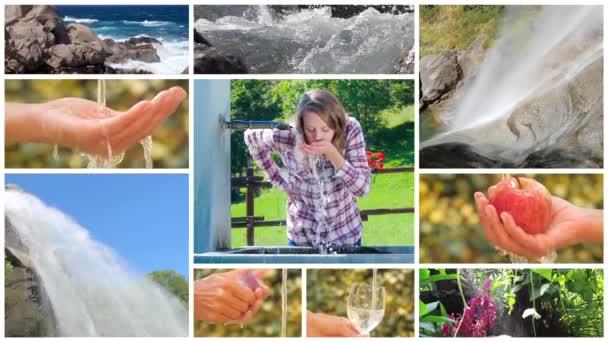 voda je nejcennější na planetě, fotomontáž