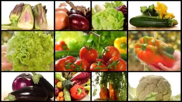 rozmanité zeleniny sestřih