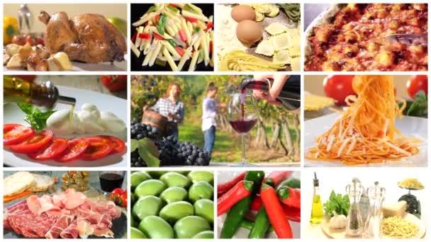 Italské potraviny sestřih