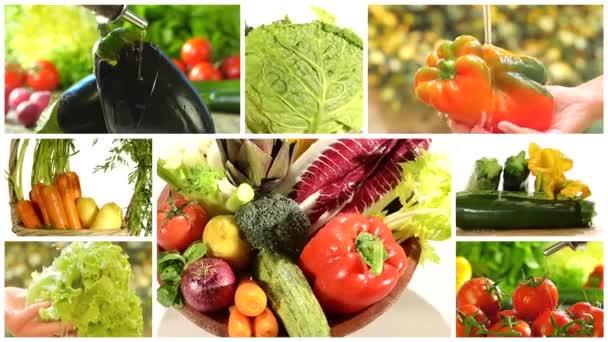 lahodné zeleninové koláže