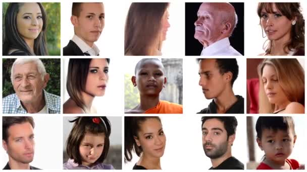 Collage of people of different racial and ethnic backgrounds