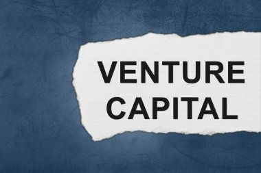 venture capital with white paper tears
