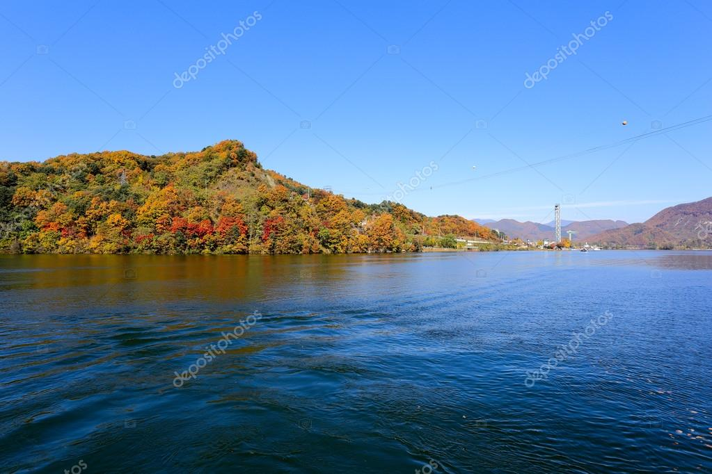 Namiseom island in autumn