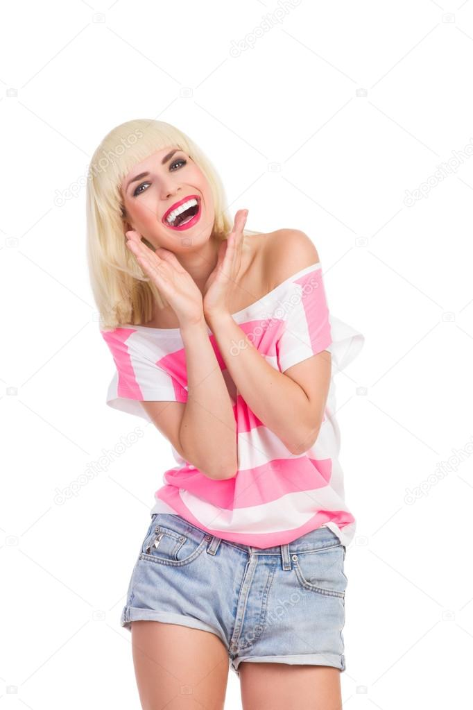 Laughing Beauty