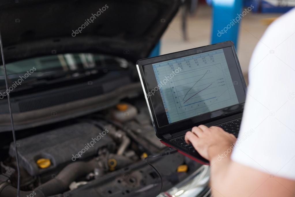 Car engine computer diagnostic